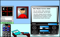 Thumbnail screenshot showing the Family Entertainment Centre Flash movie